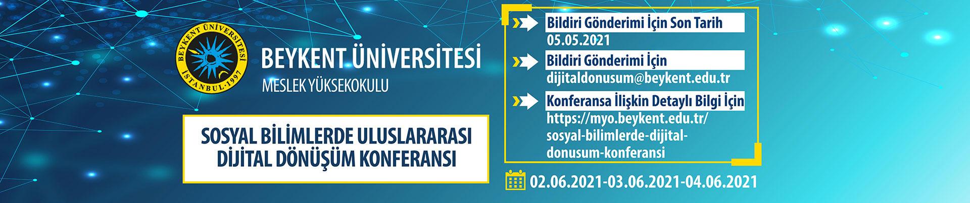 Sosyal Bilimlerde Dijital Dönüşüm Konferansı
